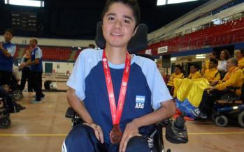 Masanelli ganó medalla de bronce en el Open de boccias