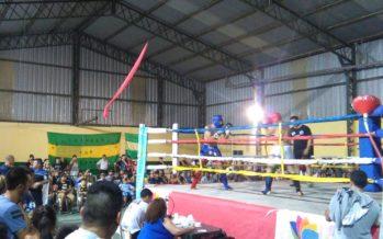 Se vivió una exitosa noche de kick boxing en Los Tulipanes de Garín