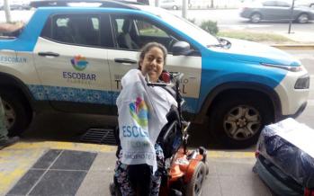 Leonela Andino competirá en los Juegos Parapanamericanos Juveniles de Brasil