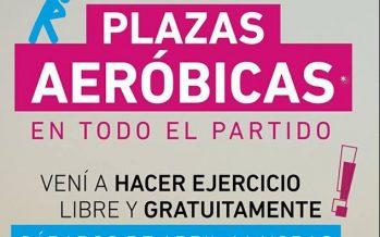 """Comienza """"Plazas Aeróbicas"""", actividad física gratuita en todo el distrito"""