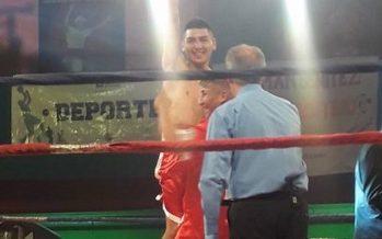 Germán Benítez volvió con todo y le ganó a Maidana en el 1º round