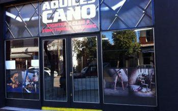 Aquiles Cano abrió su nuevo Fighter´s Club, sobre la avenida 25 de Mayo
