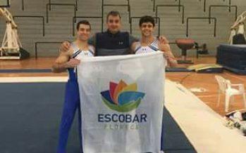 Lucas Neistadt, gimnasta escobarense y de elite