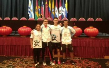 Medallas para alumnos de Bolagama en el Sudamericano de wushu kung fu