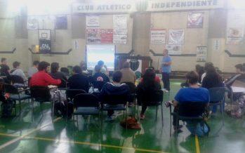 Gran taller a cargo de Horacio Anselmi en Independiente de Escobar