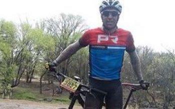 Jorge Estrada corrió el Rally de Santa Rosa de Calamuchita, de MTB