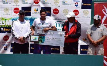 """""""Juani"""" Galarza ganó el Future de La Paz y fue finalista en dobles, en Bolivia"""