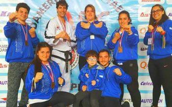 Medallas para escobarenses en el Sudamericano de Taekwondo ITF, en Perú