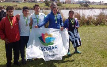 Tres oros y un  nuevo bronce en Mar del Plata para la delegación escobarense