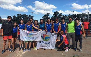 Intensa actividad y podios de los atletas escobarenses en diferentes torneos