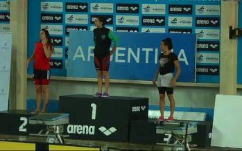 Nieves campeona y Giménez segunda en los 200 metros pecho del Nacional