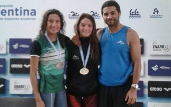 Oro y bronce para Nieves y Giménez tras el primer día del Nacional de Natación