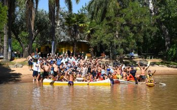 Jornada recreativa para personas con discapacidad en el Paraná de las Palmas
