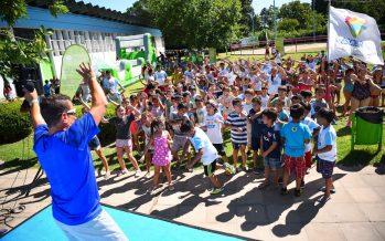 Más de 800 chicos disfrutan de las escuelas abiertas de verano en el partido