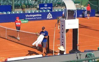 Juani Galarza cayó ante Belucci en la qualy del Argentina Open