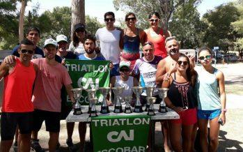Récord de podios para los atletas de Independiente en el tria de Victoria