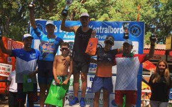 Villarruel ganó el triatlón de Victoria, válido por el Campeonato Entrerriano