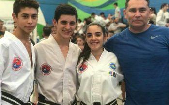 Dos escobarenses quedaron en la selección argentina de taekwondo juvenil