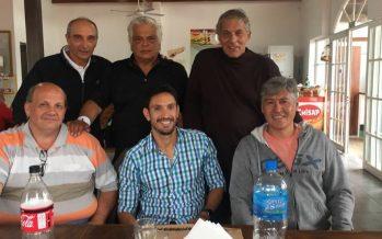 El ex tenista Vasallo Argüello visitó el club Independiente de Escobar