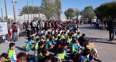 """En Savio, 500 chicos participaron de la primera jornada """"Interpoli"""""""
