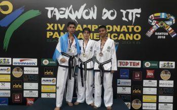 Siete medallas para escobarenses en el Panamericano de Taekwondo, en Brasil
