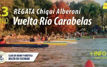 """Se corre la 18° edición de la """"Vuelta al río Carabelas"""", en el Club de Remo"""