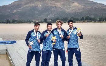 Juegos Odesur: Mauricio Acuña ganó medalla de plata en canotaje K4