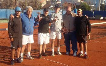 Lugo y Diez ganaron los torneos de tenis B1 y B2 en el Club Independiente