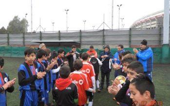 """Los chicos de Doble55inco jugaron la Copa """"Angel Labruna"""", en River Plate"""