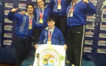 Más medallas de escobarenses en el torneo Bs. As. de taekwondo ITF