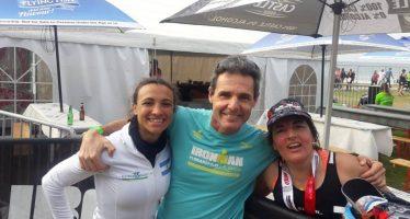 Los atletas escobarenses pisaron fuerte en el Mundial Ironman 70.3 de Sudáfrica