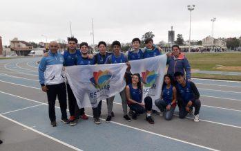 Nueve atletas de Escobar compitieron en el Nacional U18 de Chaco