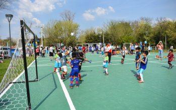 Loma Verde ya tiene su polideportivo, inaugurado el sábado por Sujarchuk
