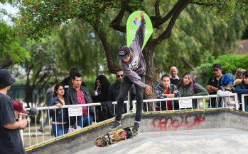 El skate park convocó a los mejores del circuito en la 1° fecha del Campeonato