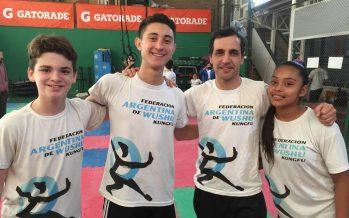 Tres escobarenses se preparan para competir en el Panamericano de wushu