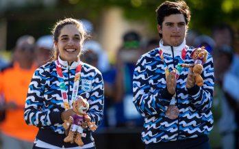 Una golfista escobarense ganó medalla en los Juegos Olímpicos de la Juventud