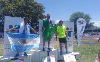 Ovejero ganó una medalla de oro y dos de plata en los Juegos para trasplantados