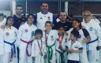 El Centro de Artes Marciales se lució en la Copa Ost, de taekwondo