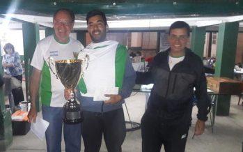 Tirado ganó el concurso a la pieza mayor, que contó con 48 pescadores