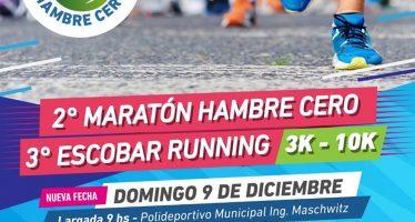 Se corre la maratón solidaria, este domingo en Ingeniero Maschwitz