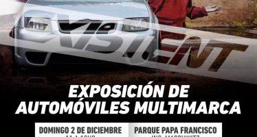 Exposición de automóviles multimarca en Ingeniero Maschwitz