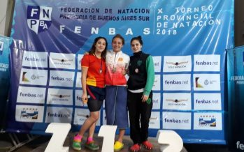 La nadadora Candela Nieves ganó seis medallas en el Provincial de Miramar