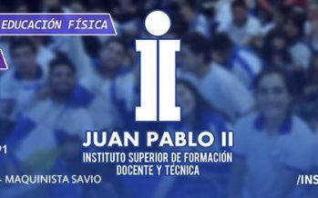 Juan Pablo II abrió la inscripción 2019 para la carrera de Educación Física