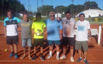 Canel, Claret y González, campeones de los torneos de tenis en CAIDE