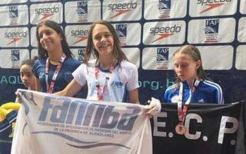 La escobarense Leguiza ganó dos medallas en el Campeonato Paulista