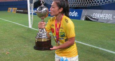 La garinense Vallejos ganó la Copa Libertadores con el Huila de Colombia