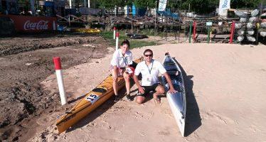 Palistas del Club de Remo compitieron en los Juegos Nacionales de playa