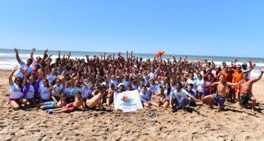 """200 chicos fueron a Gesell con el programa municipal """"Mi primer viaje al mar"""""""