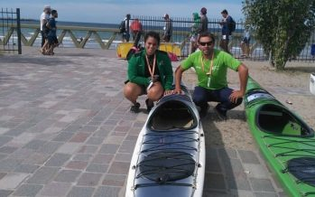 Un palista del Club de Remo corrió en los Juegos Playa de Puerto Madryn