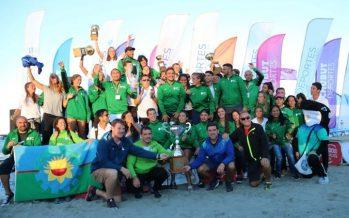 Futbolistas escobarenses participaron en los Juegos Nacionales de Playa